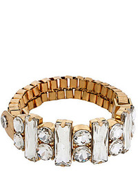 Kenneth Cole New York Crystal Faceted Stretch Bracelet