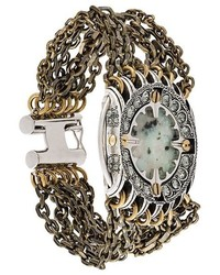 Lanvin Chunky Embellished Stone Bracelet