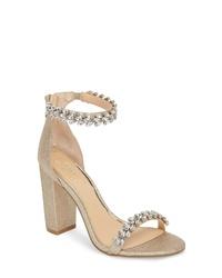 JEWEL BADGLEY MISCHKA Jewel By Badgley Mischka Mayra Embellished Sandal