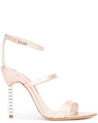 Sophia Webster Embellished Heel Strappy Sandals