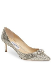 Jimmy choo alexa embellished pump medium 3694357
