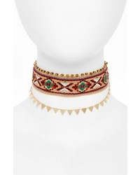 Panacea Embroidered Choker