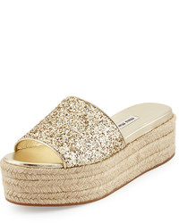 Gold espadrilles original 4346684