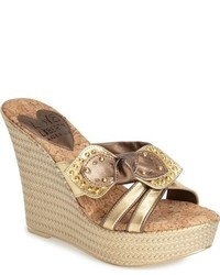 Love And Liberty Claudia Wedge Sandal