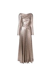 Talbot Runhof Laminated Jersey Gown