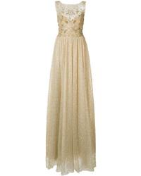 Marchesa Notte Glitter Gown