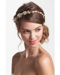 Cara Vintage Tiara Headband Gold