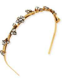 Oscar de la Renta Crystal Branch Headband