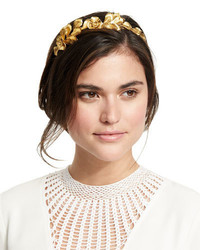 Jennifer Behr Flower Petal Metal Headband