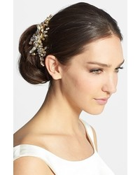 Halo & Co English Violet Crystal Hair Comb Gold