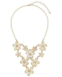 Dorothy Perkins Textured Flower Necklace