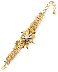 Sequin Floral Statet Bracelet