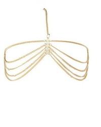 Charlotte Russe Draped Chain Goddess Headpiece