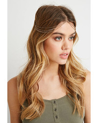 Forever 21 Draped Chain Headpiece