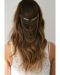 Forever 21 Layered Chain Head Piece