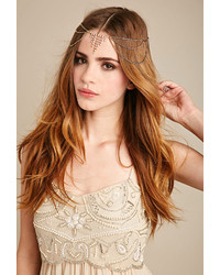 Forever 21 Rhinestone Embellished Draped Headpiece