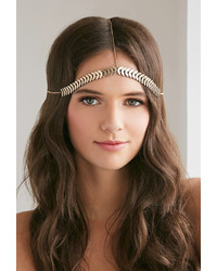 Forever 21 Stacked Charm Headpiece