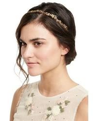 Jennifer Behr Arden Metal Bandeaux Headband