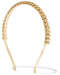 Rosantica Atena Gold Tone Headband One Size