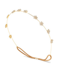 Jennifer Behr Viv Gold Tone Crystal Headband