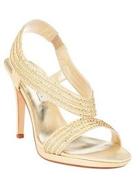 Gold heeled sandals original 4530523