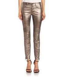Polo Ralph Lauren Metallic Moto Jeans