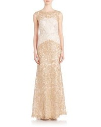 Embroidered lace gown medium 1041506