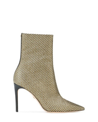 Dsquared2 Metallic Stripe Ankle Boots