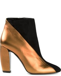Pierre Hardy Metallic Panel Ankle Boots