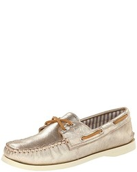 Sperry Top Sider Authentic Original Metallic Boat Shoe