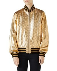 70d1a7ce3 Women's Bomber Jackets by Gucci | Women's Fashion | Lookastic.com