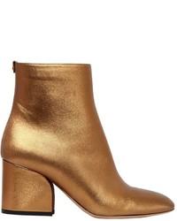 Salvatore Ferragamo 70mm Pisa Metallic Leather Boots