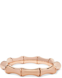 Gucci 18 Karat Rose Gold Bamboo Bangle