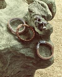 John Hardy Bronze Eagle Head Bracelet