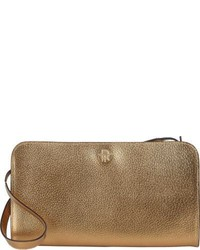 The Row Convertible Clutch Gold