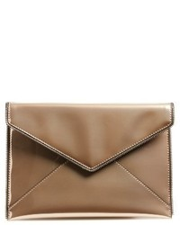 Leo mirror metallic envelope clutch metallic medium 1248545