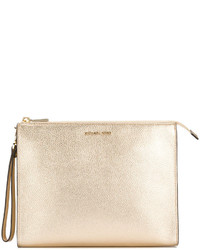 Michl michl kors metallic grained clutch medium 4413891