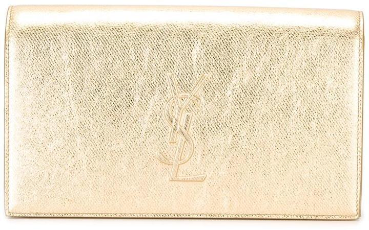 Saint Laurent Classic Monogram Clutch