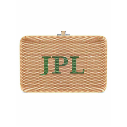 Judith Leiber Couture Slim Slide Customizable Monogram Bag