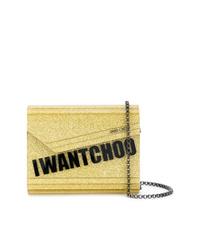 Jimmy Choo Candy Glitter I Want Choo Bag