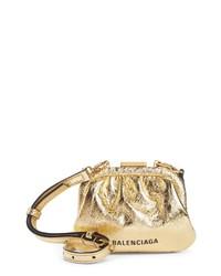 Balenciaga Cloud Coin Purse Crossbody Bag