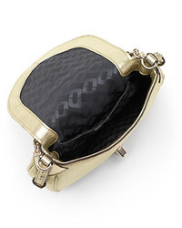 72ffdbb219ae Diane von Furstenberg Sutra Mini Metallic Leather Crossbody Bag ...