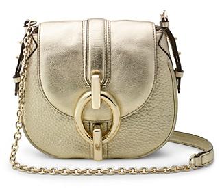 6b4d7e4ac0d2 ... Gold Leather Crossbody Bags Diane von Furstenberg Sutra Mini Metallic  Leather Crossbody Bag ...