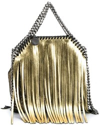 Falabella tiny fringe faux leather bag medium 759994