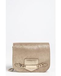 Jimmy Choo Shadow Metallic Leather Crossbody Bag