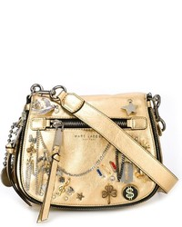 bc6e5fbffb32 Women s Gold Leather Crossbody Bags by Marc Jacobs