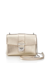 Jimmy Choo Marianne Metallic Leather Crossbody Bag