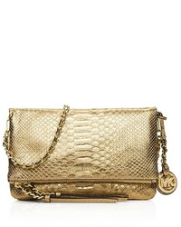 1ca2ca85f9d2 ... MICHAEL Michael Kors Michl Michl Kors Medium Corinne Metallic Messenger  Crossbody