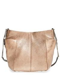 Jimmy Choo Small Anabel Metallic Leather Crossbody Bag