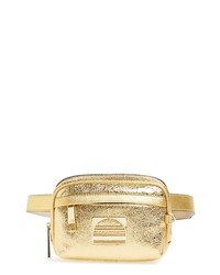 Marc Jacobs Sport Metallic Leather Belt Bag